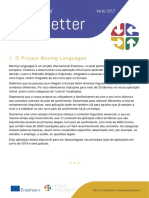 Moving Languages Newsletter Summer 2017 Portuguese
