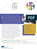 Moving Language Newsletter Winter-Spring 2018 FRENCH
