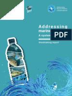 Stock Taking Report on Marine Plastics - Final Version