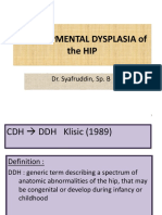 Developmental Dysplasia of the Hip - Copy