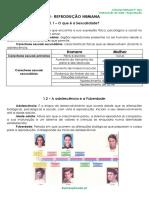 2.1 - Ficha Informativa - Transmissão de Vida - Reprodução
