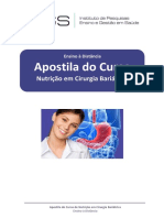 Apostila de Nutrição Em Cirurgia Bariátrica-1