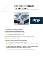 DROIT DES CONTRATS D'AFFAIRES (1).doc