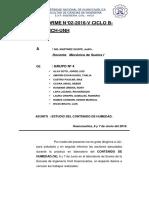 Informe Numero 2 Contenido de Humedad