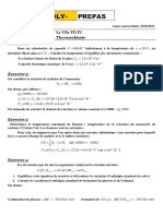 Td 4 La Thermochimie
