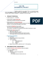 Incremental Project Guideline (CS110) Terengganu
