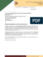 Surat Permohonan Bil Elektrik