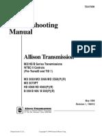 Allison Transmission MD3060 Trouble Shooting
