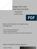 EMGT101 - Engineering Management Concepts