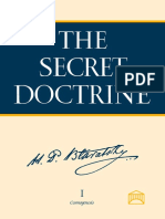 [Teosofía] The Secret Doctrine Vol. I