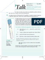 TechTalk Sodium Citrate