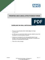 UK Oral Anticoagulation