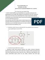 Tugas Pendahuluan Isolasi DNA Biokimia