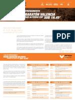 Plan Entrenamiento Media Maratón
