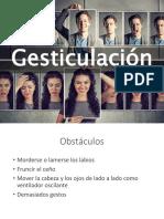 Gesticulación