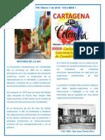 Boletín 1 CIC 2019 Cartagena de Indias Colombia