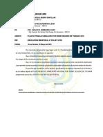 Informe 063- 2018-Plan Multipeligro 2018
