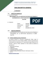 02 Memoria Descriptiva General