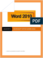 Word 2010 Discenters