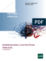 Introduccuión a Las Políticas Públicas