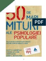 Scott O. Lilienfeld - 50 de mari mituri ale psihologiei populare (v.1.0).doc