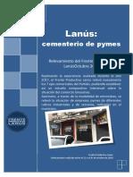 Informe del Frente Productivo Lanús 2018