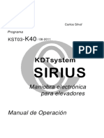 DT1580901 - SIRIUS - Manual K40 - r1 - es.pdf