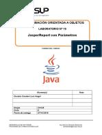 Lab 16 - JasperReports Con Parámetros-2018-2