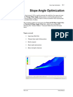 Tutorial 32 Probabilistic Slope Stability Analysis