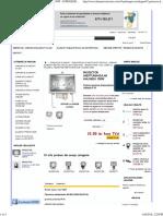 Proiector Dreptunghiular Halogen 150w - Eurolight Grup-gama Completa de Materiale Si Echipamente Electrice