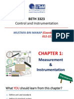 Chapter 1-Measurement and Instrumentation