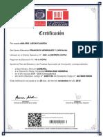 Certifica Do PDF