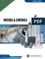 Franklin Motors and Controls Catalog m1748