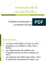 3. Consecuencias Del La Guerra Del Pacífico