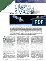 Combining Galileo PRS and GPS M-Code