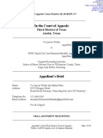 Wilder v. MWS CAPITAL Court of Appeals Appellant Brief (File Stamped)
