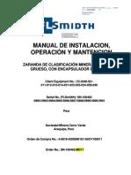 Manual Operacion Zarandas Cerro Verde