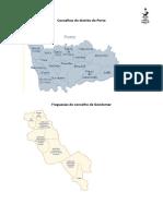 Concelhos Do Distrito Do Porto
