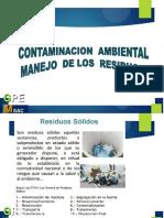 1. Contaminacion Ambiental ,Manejo de Los Residuos Nuevo.