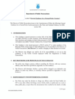 General Guidance for a Formal Police Caution