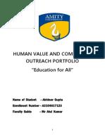 282678000 Human Values Portfolio