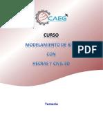 Estructura Del Curso - Modelamiento de Rios Con HecRAS y Civil 3D
