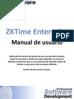 Manual ZKTime Enterprise