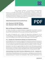 Info Deutschpruefung Pflege Medizin