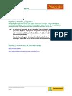 Aspekte 1 Rechercheaufgaben Kapitel 8