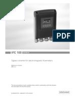 Krohne IFC100 Manual