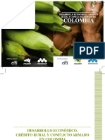 Desarrollo Economico, Credito Rural y Conflicto Armado en Colombia