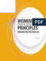 Women's Empowerment Principles_Promising Practices from Georgia