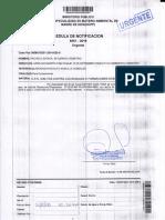 Saturnino Pacheco Estaca- Fiscalía Ambiental desestima investigación preparatoria contra  Leandra Castillo Mamani, María Chalco Anco y L.Q.R.R.