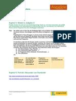 Aspekte 1 Rechercheaufgaben Kapitel 9
